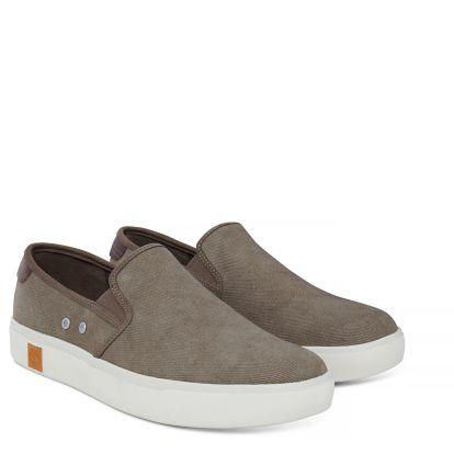 In offerta! timberland-estate-uomo-canvas-cotone-sneakers-a1arq-mocassino-  ... 6cebd1d087a