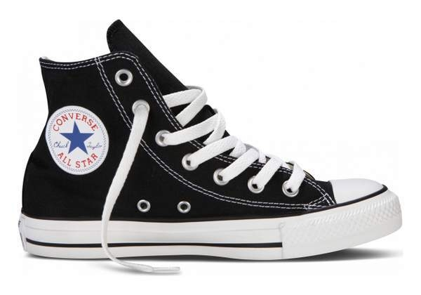 all star converse alte donna nere