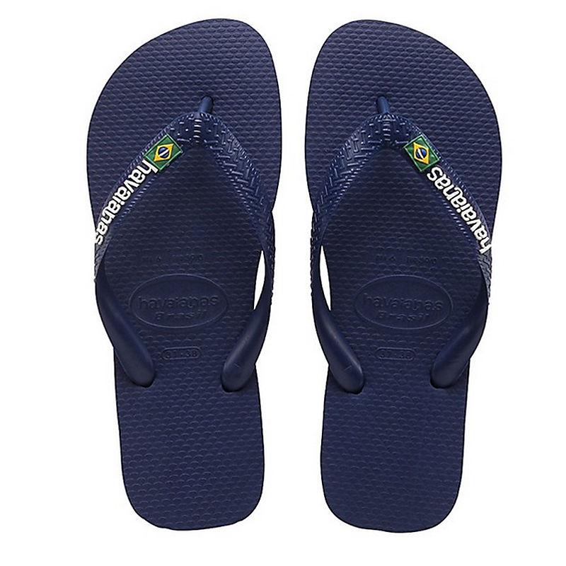 Havaianas infradito Brasil Logo Blu Marino 4110850 0555