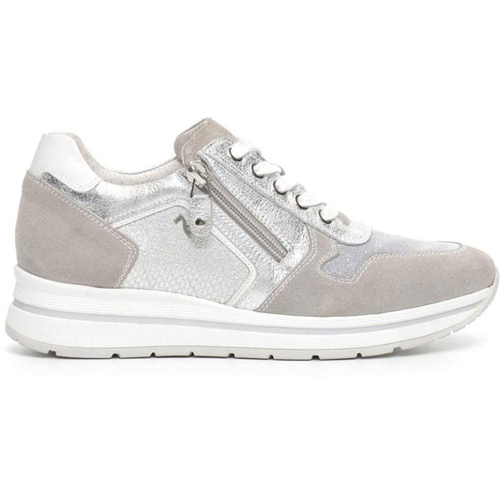 Nero giardini sneakers donna p717230d argento lombardi - Scarpe nero giardini outlet ...