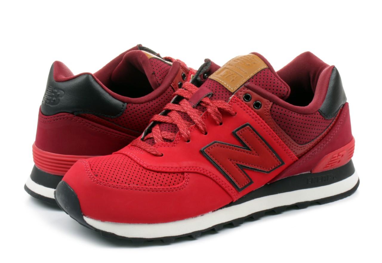 new balance rosso uomo