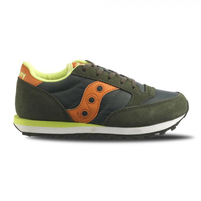 scarpe saucony bambino arancione