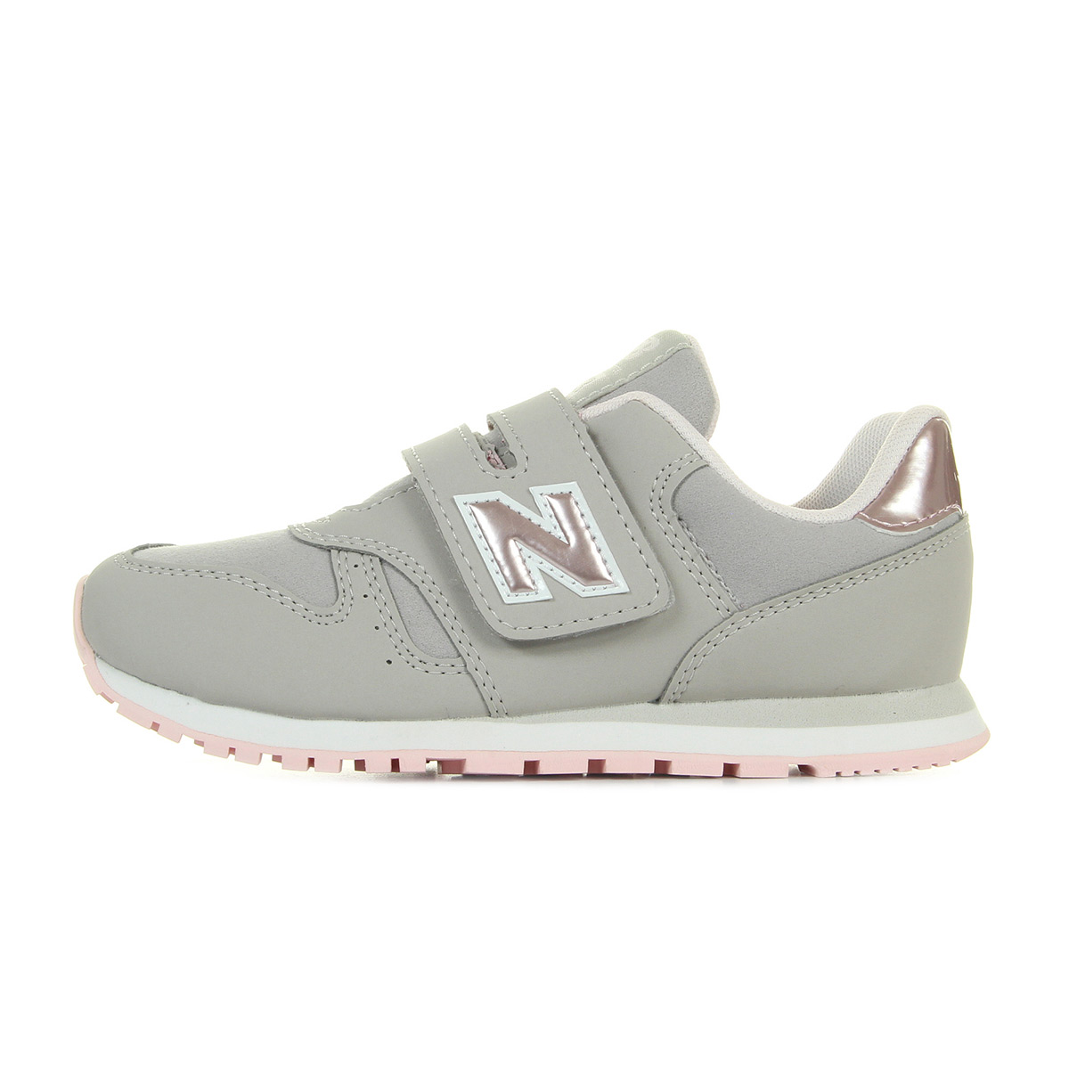New Balance Junior Bimba Grigio KV 373 F1Y - LOMBARDI CALZATURE ... 16178119be5