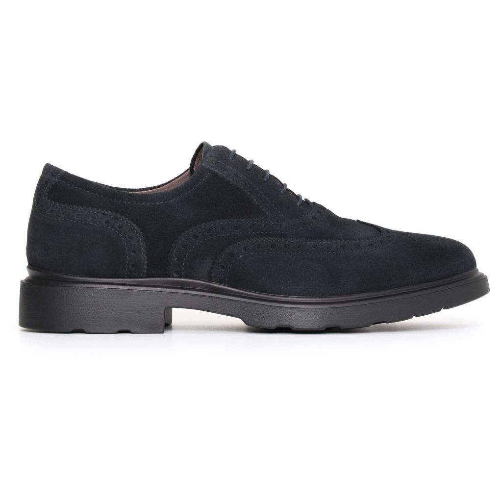 Nero giardini uomo scarpa bassa blu a705281u 200 lombardi calzature seano carmignano prato - Scarpa uomo nero giardini ...
