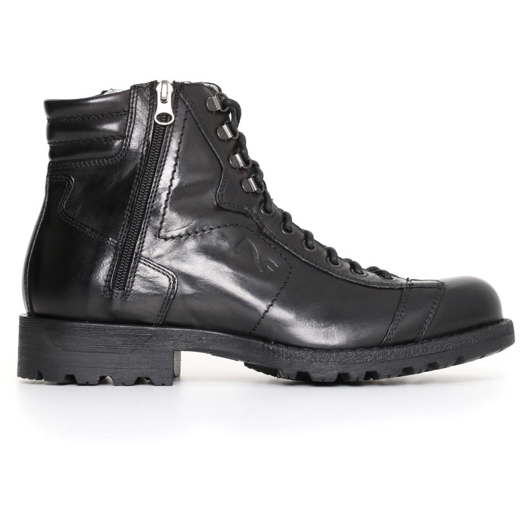 Nero giardini uomo scarponcino nero a705490u 100 - Scarpe invernali uomo nero giardini ...