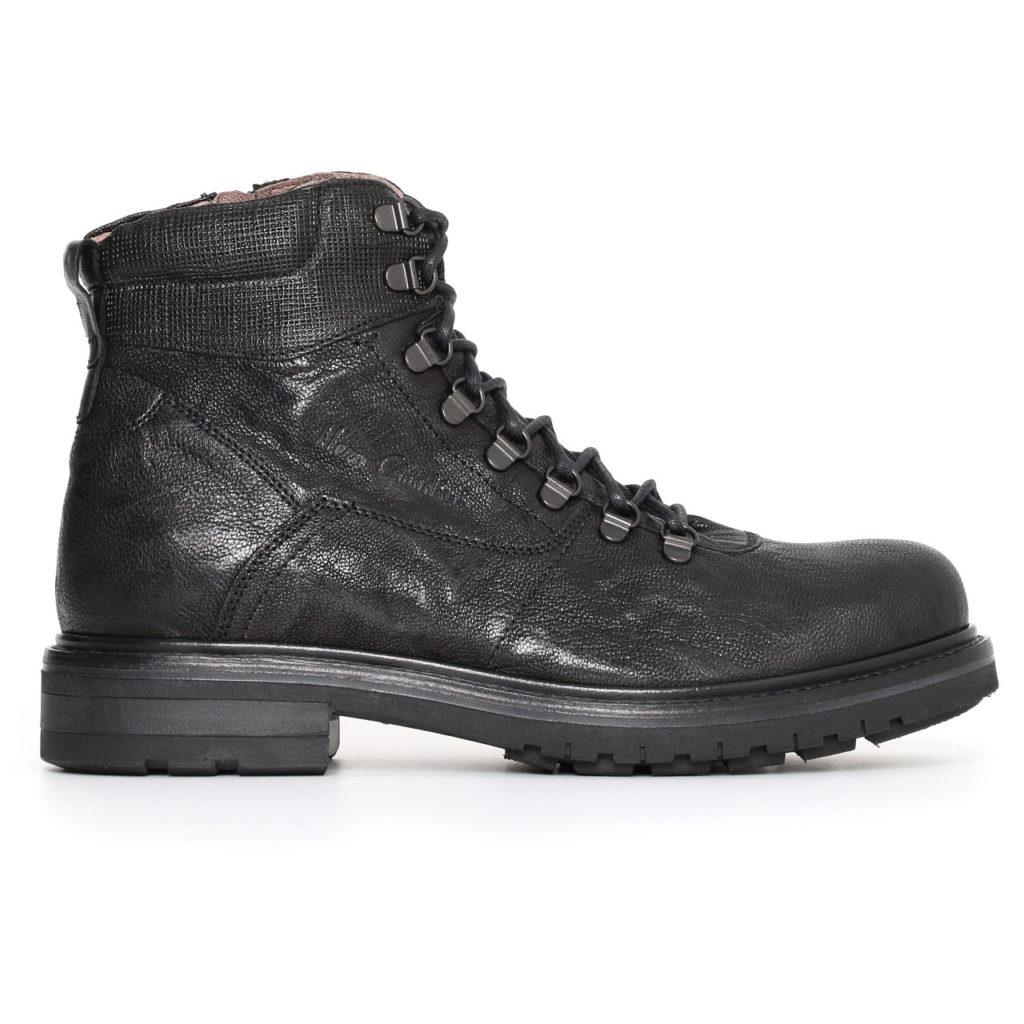Nero giardini uomo scarponcino nero a705480u 100 - Scarpe invernali uomo nero giardini ...