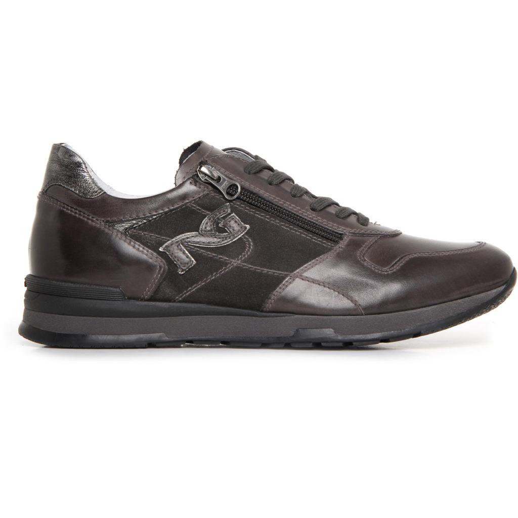 Nero giardini uomo scarpa bassa antracite a705241u - Scarpe invernali uomo nero giardini ...