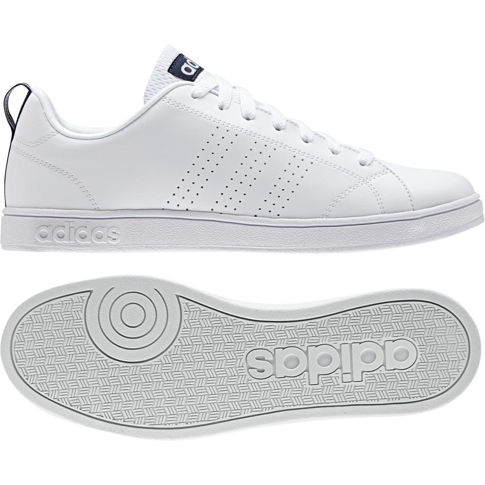 Adidas Vs Advantage Bianco/Blu Uomo e Donna 99252