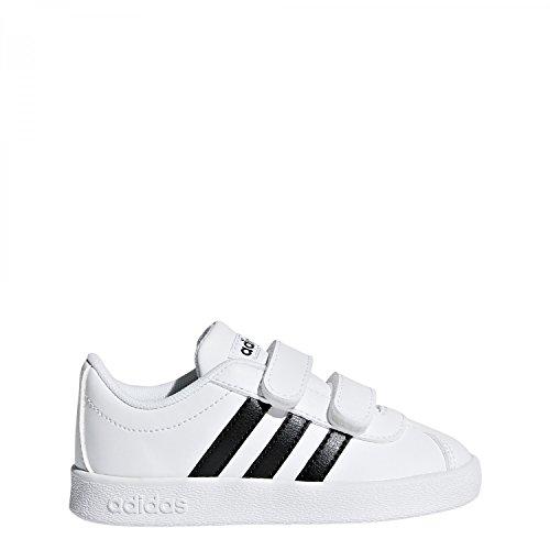 Adidas Baby Bimbi VL Court 2.0 CMF db1839 Bianco Nero - LOMBARDI ... 8d3ae2f8125