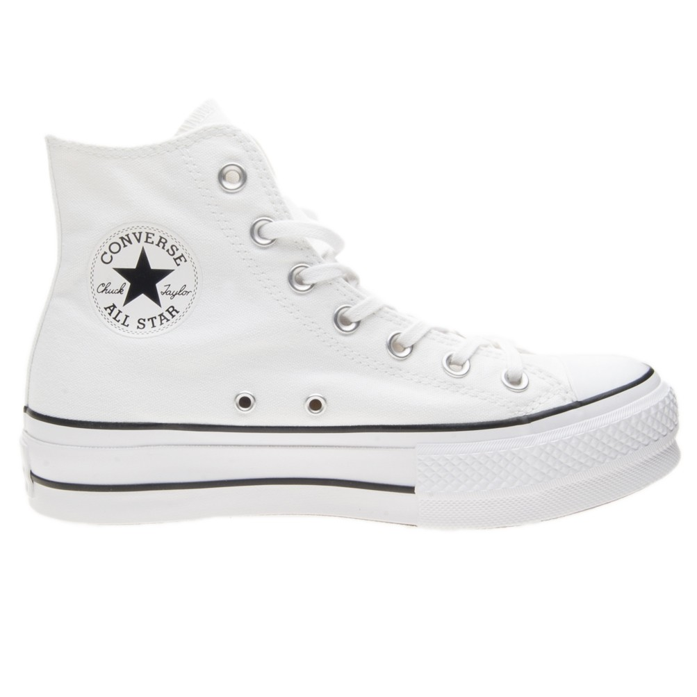 converse all star alte bianche