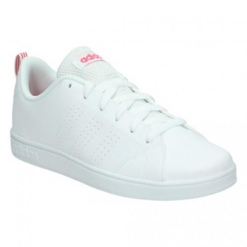 meet 03e47 51e1f ... adidas-vs-advantage-bb9976-bianco-rosa-bambina-allacciata-