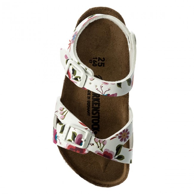 Birkenstock bimba rio flowers 1008372 lombardi calzature for Seano prato