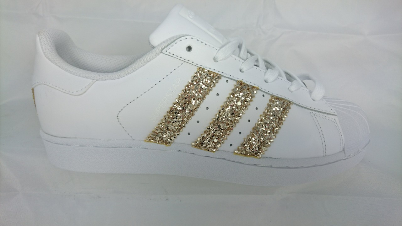adidas superstar glitterate