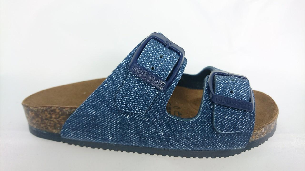 Goldstar Ciabatta 2 Fasce Bimbo Blu Jeans - LOMBARDI CALZATURE SEANO ... c19170d720e