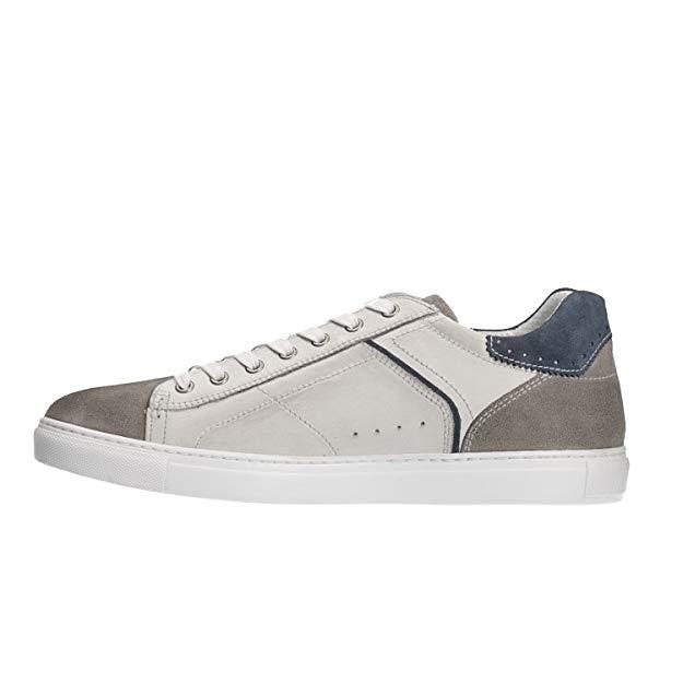 Uomo Lombardi P800271u Kenia Bianco Nero Sneakers Giardini QdtxoshrBC
