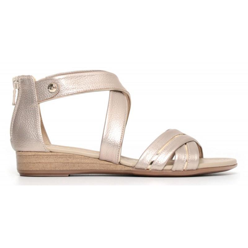 Nero giardini sandalo donna platino p805640 d 672 lombardi calzature seano carmignano prato - Sandali bassi nero giardini ...