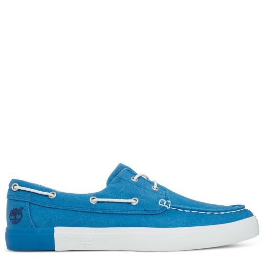 f3ff210747634 Timberland Uomo Newport Canvas Blu Jeans A1AYVA44 - LOMBARDI ...