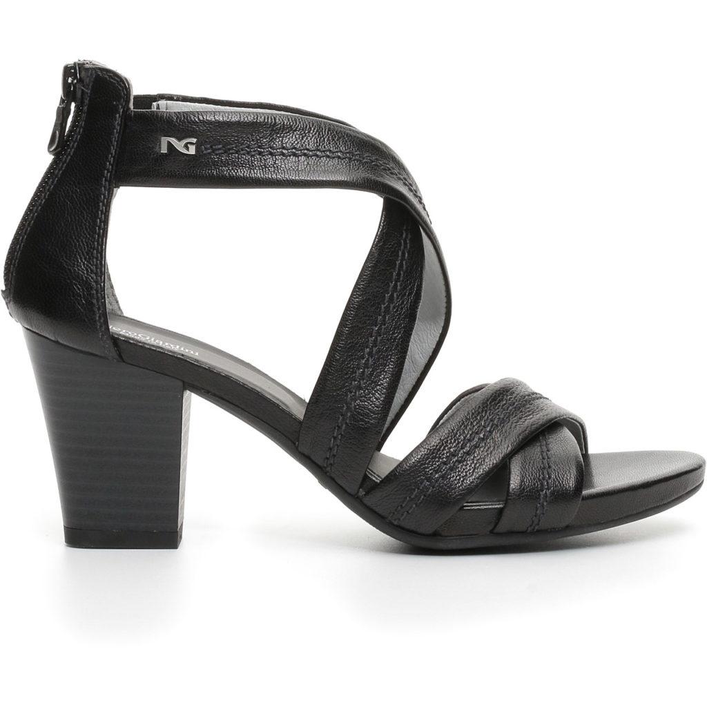 Nero Giardini Sandalo Donna Pelle Nero 717590D - LOMBARDI CALZATURE ... 46e8702dfb6