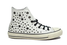 converse all star donna bianche pelle
