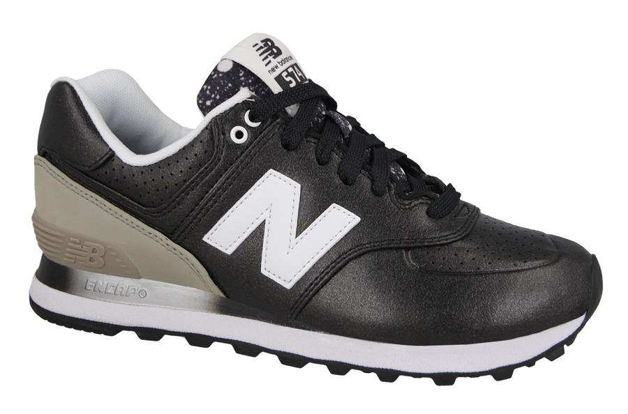new balance 574 donna nero