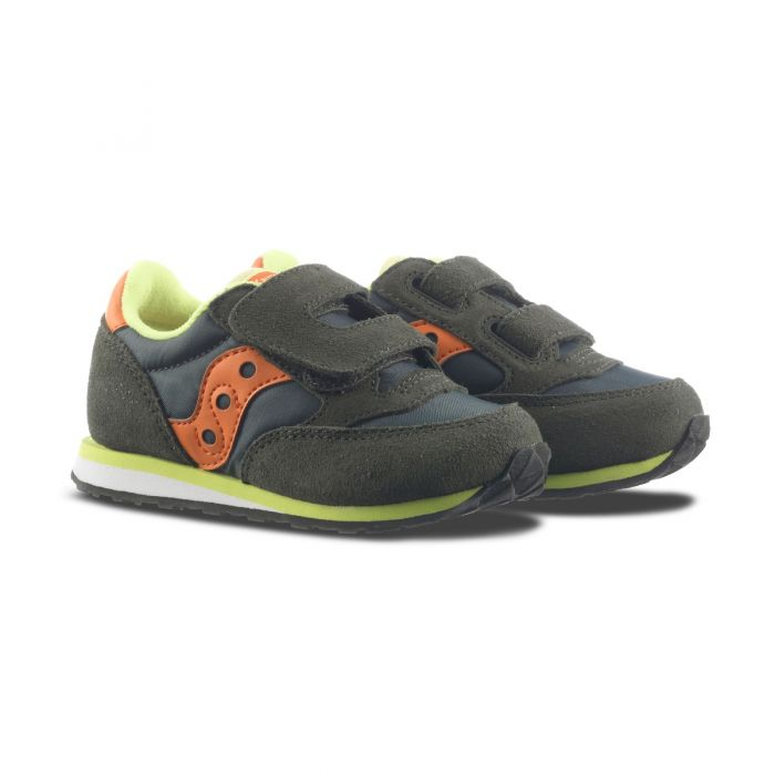 73a43dc0b8 Saucony Baby Bimbo Jazz O' ST57799 Verde/Arancio