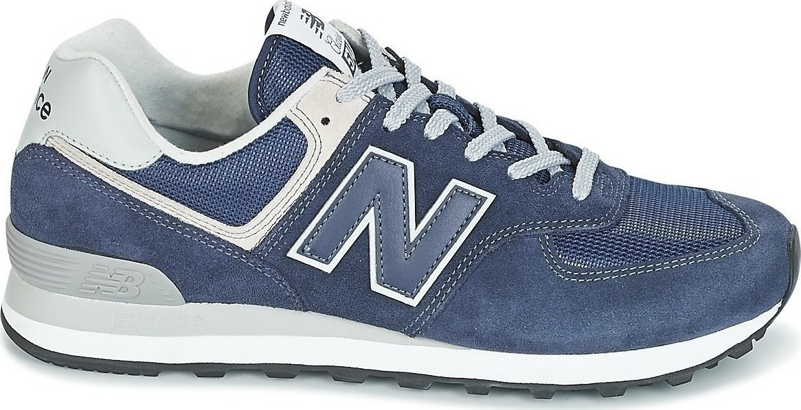 newest fc6ad c7bd3 New Balance Uomo Blu ML574 ENG