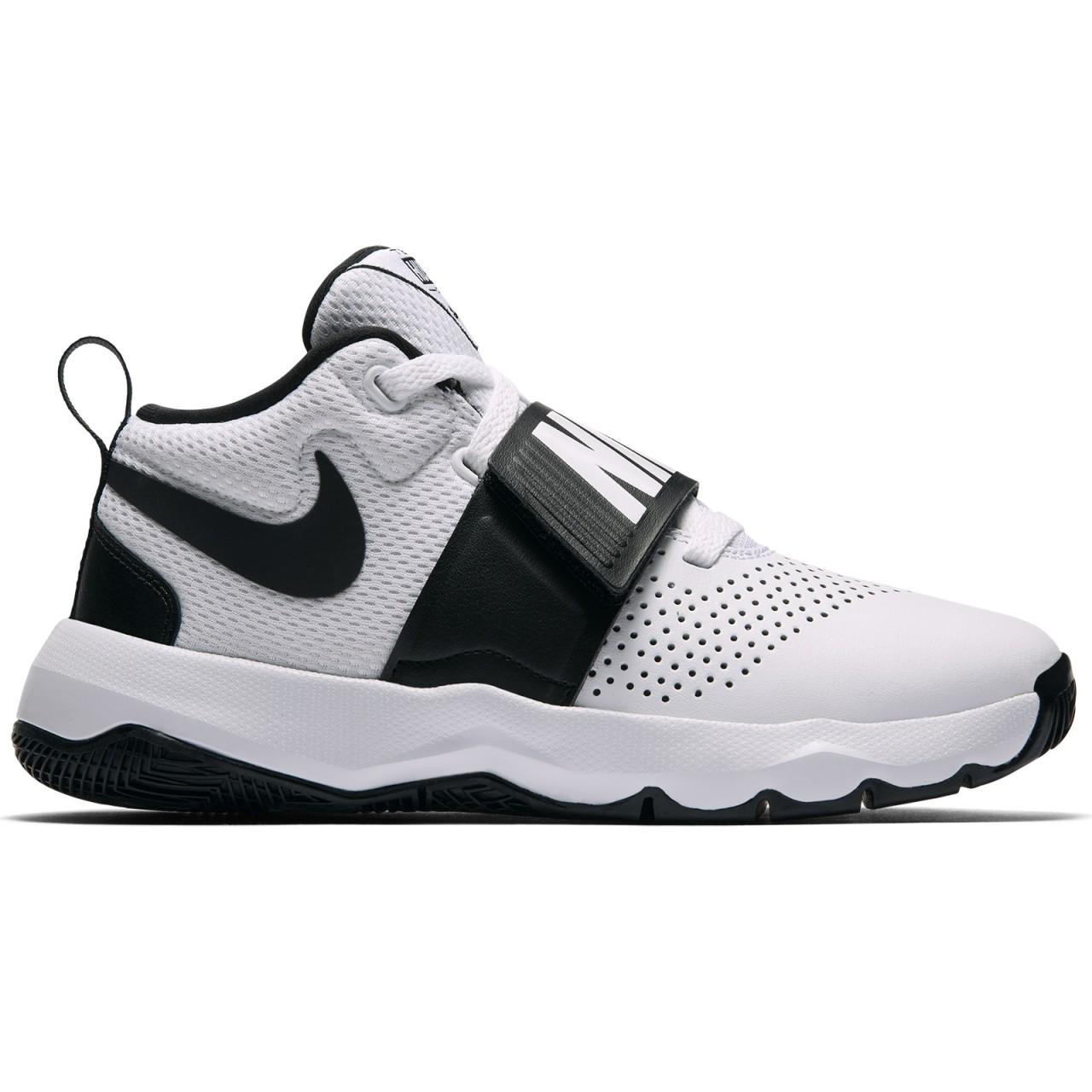Nike Team Hustle D8 Basket Bimbo 881942 100 - LOMBARDI CALZATURE ... 2539096071c