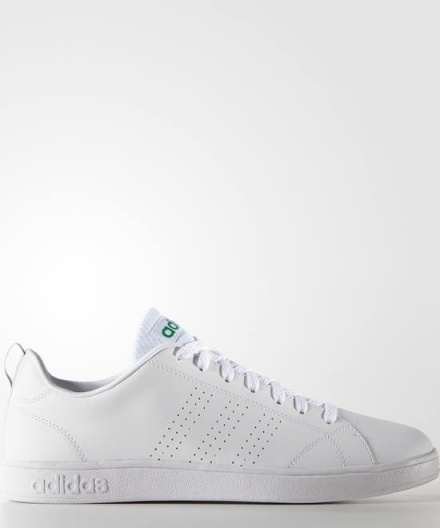 premium selection bdce2 f84cf Adidas Vs Advantage Bianco Verde Uomo e Donna