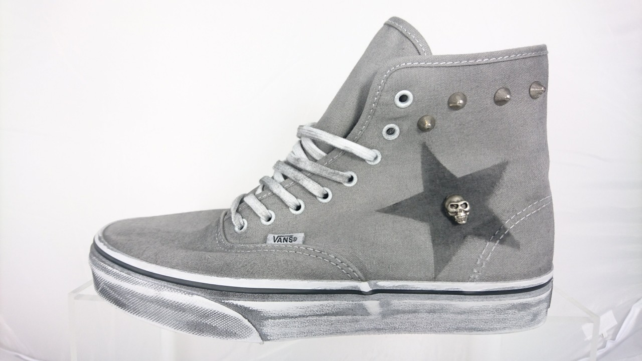 scarpe vans borchie