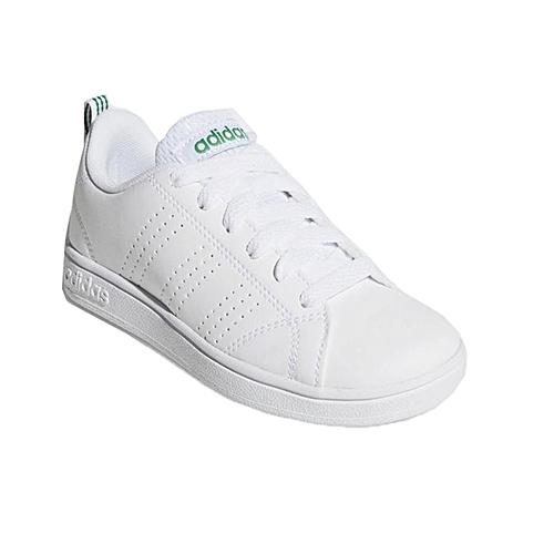 meet 10404 68f2a Adidas Vs Advantage Clean con lacci Bianco Verde Aw4884