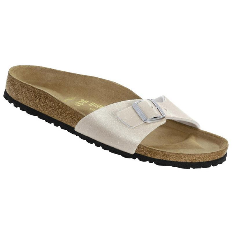 low priced f3393 3b456 Birkenstock Madrid Magic Galaxy Glitter Bianco Donna 438093