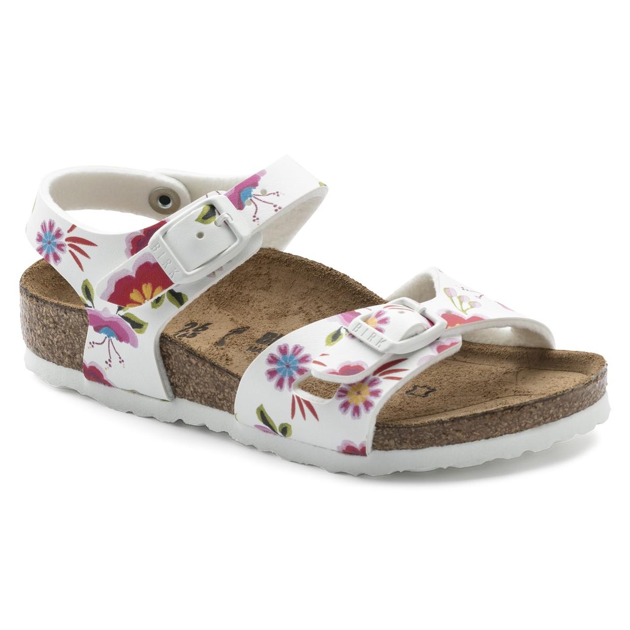 new product 1ac22 8db34 Birkenstock Bimba Rio Flowers 1008372