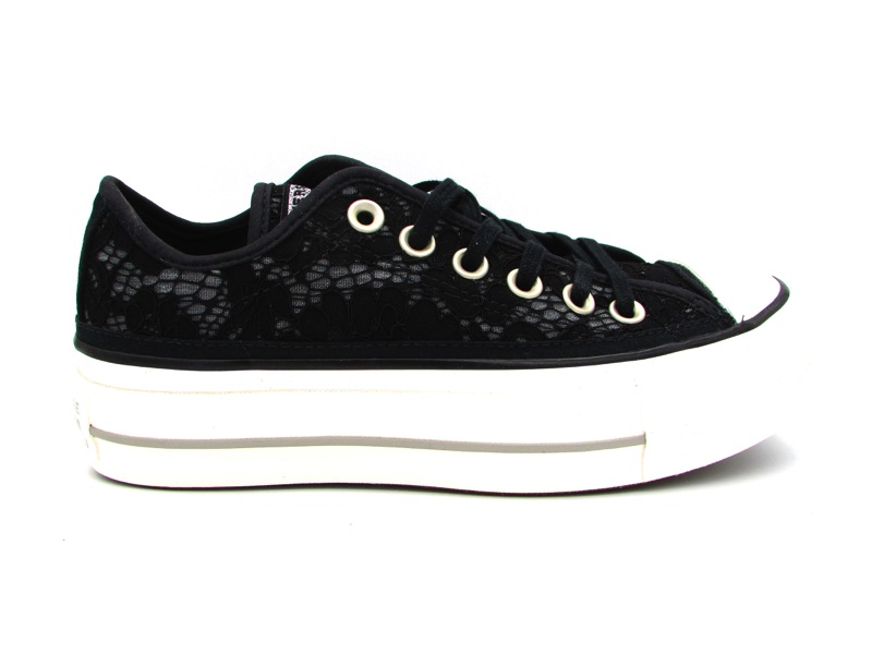 all star converse donna basse nere
