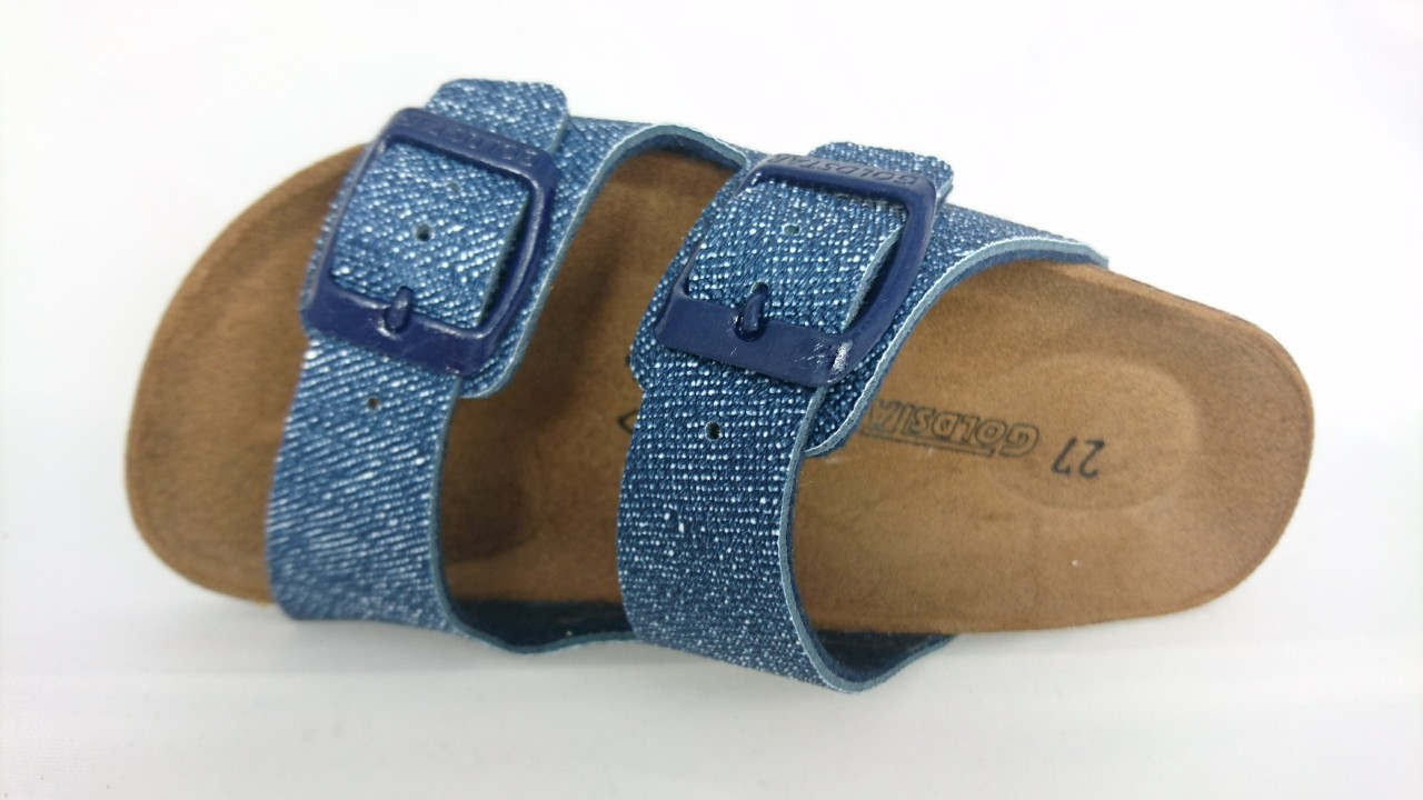 b9999332b20ee Goldstar Ciabatta 2 Fasce Bimbo Blu Jeans - LOMBARDI CALZATURE SEANO ...
