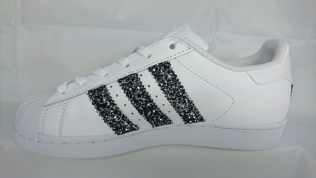 scarpe adidas brillantinate