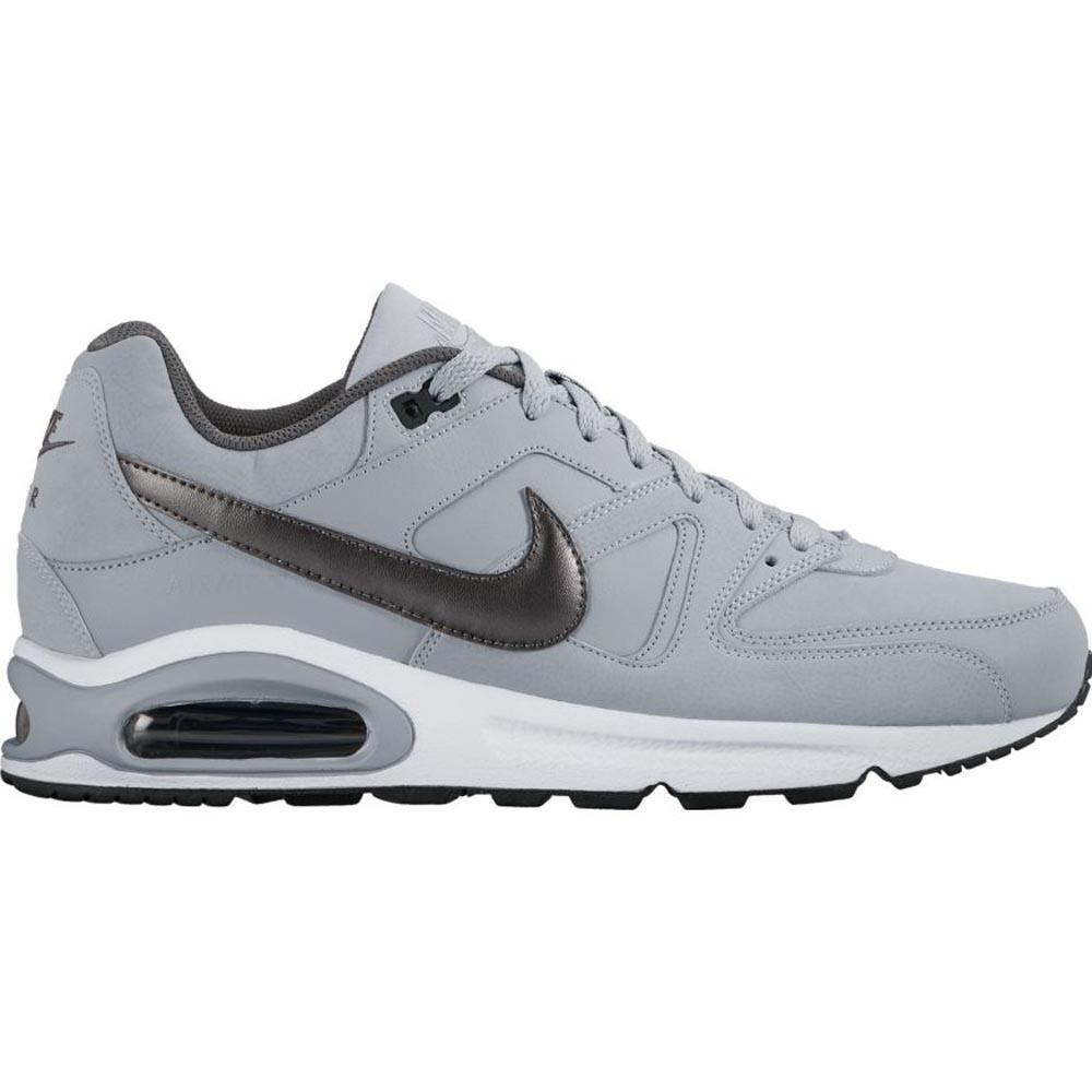 new concept cc731 607fd ... uk nike air max command uomo pelle grigio 749760 012 f59ee 8e033