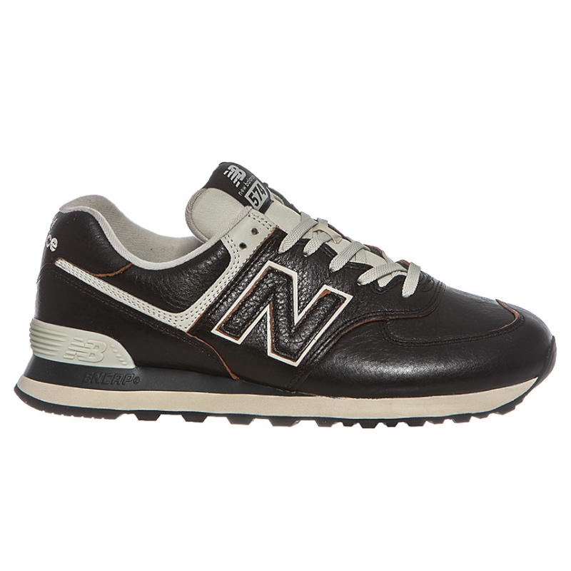 new balance in pelle marrone