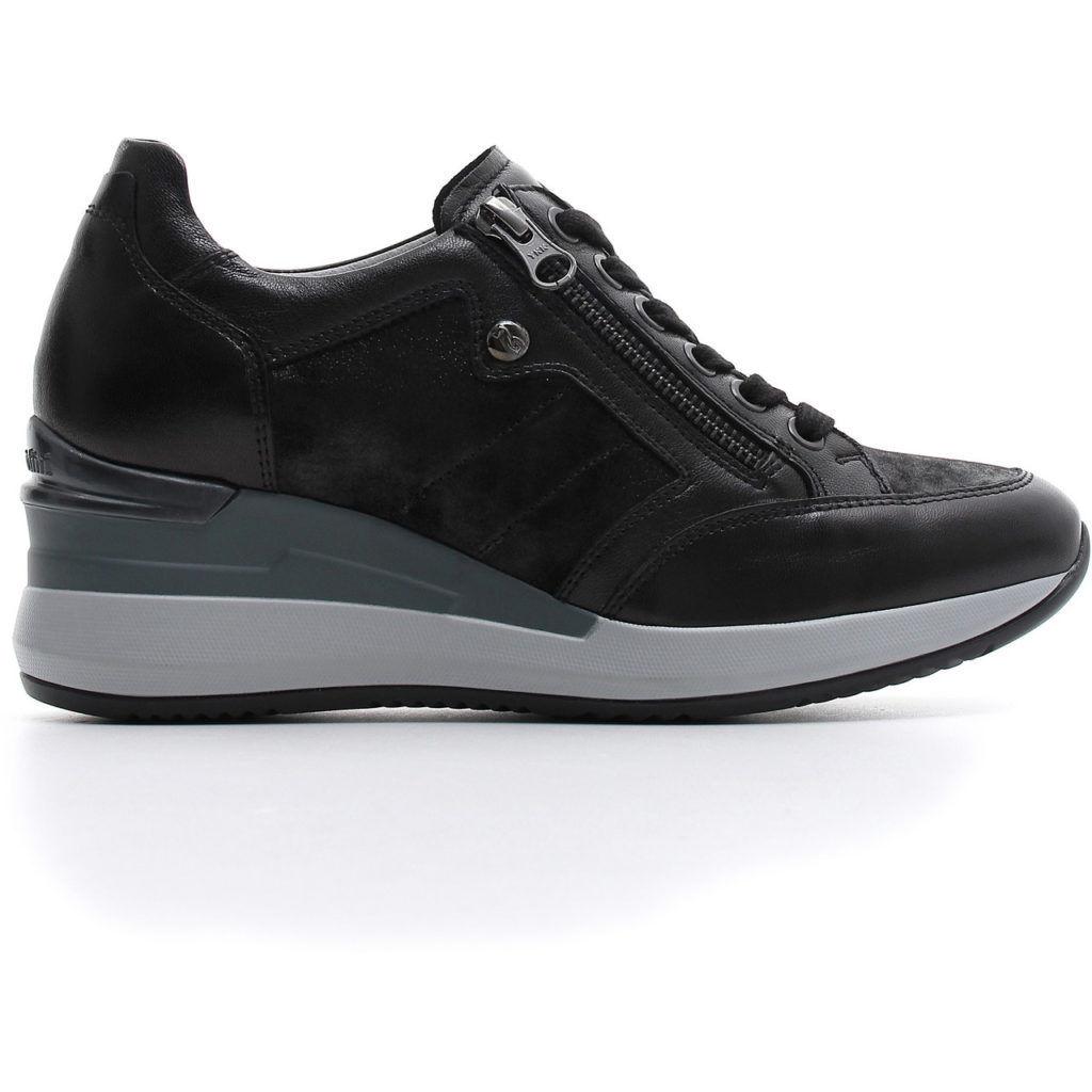 Nero giardini sneakers donna con zeppa a806611d 100 lombardi calzature seano carmignano prato - Nero giardini black friday ...