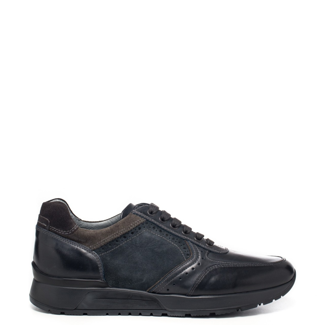 Nero Giardini Sneakers Uomo A800469U 100 - LOMBARDI CALZATURE SEANO ... 0c593095518