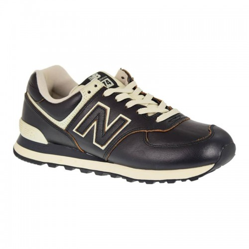 In offerta! new-balance-uomo-ml574lpk-inverno-marrone-scuro-pelle- ... d3f3ef207c6