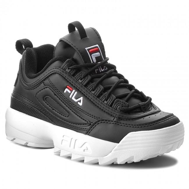 scarpe donna fila nera