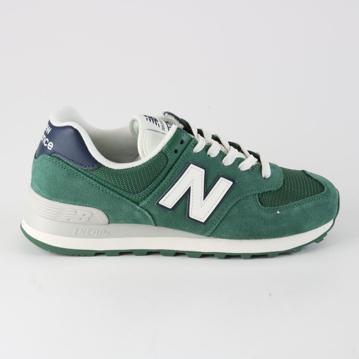 sneakers for cheap 095aa 0825f New Balance Uomo ML574OBD Verde