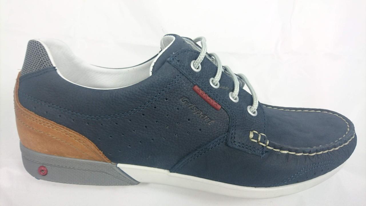 purchase cheap 8f5b0 e42ad Grisport Scarpa Uomo Linea Aereata in nabuk blu 43209T6