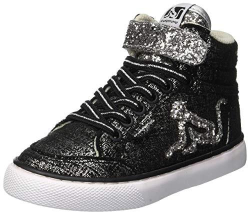drunknmuky-boston-trend-b53-nero-glitter-bimba-sneakers-alta-lacci-elastici-saldi-occasioni-black-friday-miglior-prezzo-occasioni-offerte-amazon-zalando-e-bay-e-price-yoox-tutta-italia