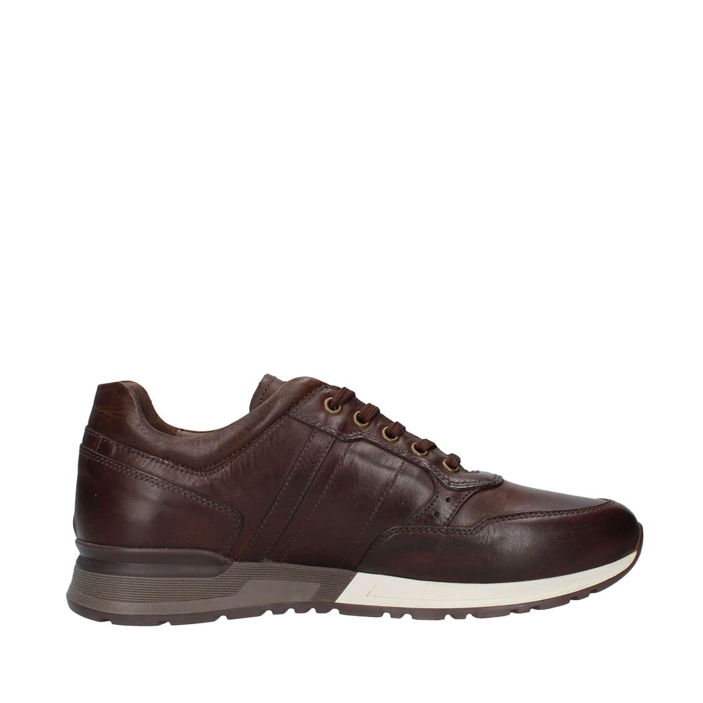 Nero Giardini Sneaker bassa pelle marrone A901190U 300