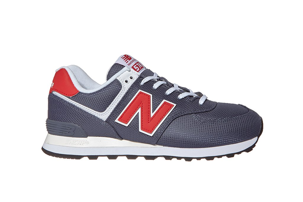 new balance 574 uomo ml574 blu