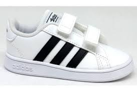 adidas-grandcourt-ef0118-baby-bianco-nero-strappi-verona-napoli-rovigo-viareggio-carrara-bergamo