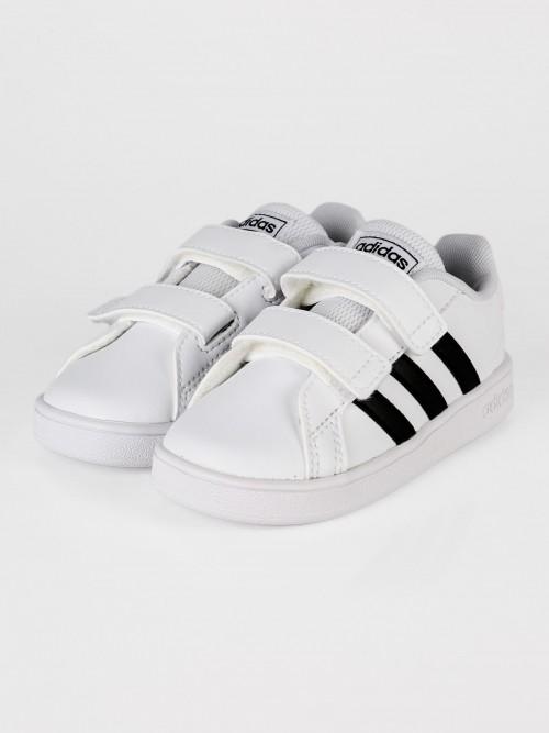 adidas-grandcourt-baby-bianco-nero-strappi