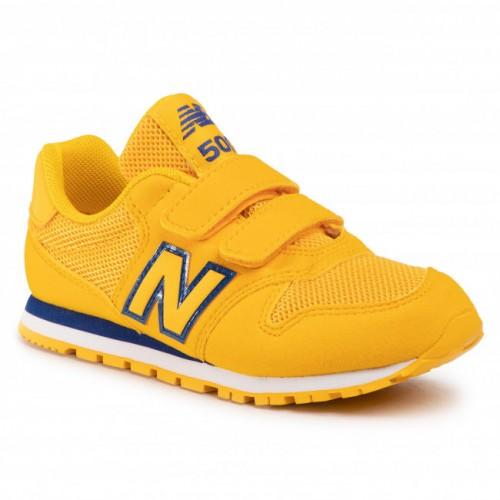 new balance 574 bambini gialle