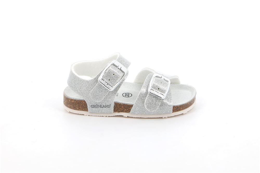 grunland-AFRE-SB1258-sandalo-bamba-glitter-argento-